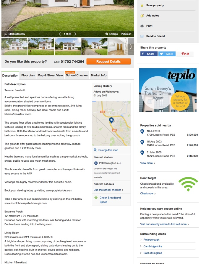 Rightmove Reading Property For Sale